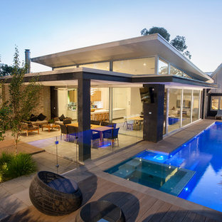 75 Beautiful Split Level Flat Roof Pictures Ideas Houzz