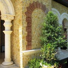Mediterranean Exterior by Pabon Designs Inc