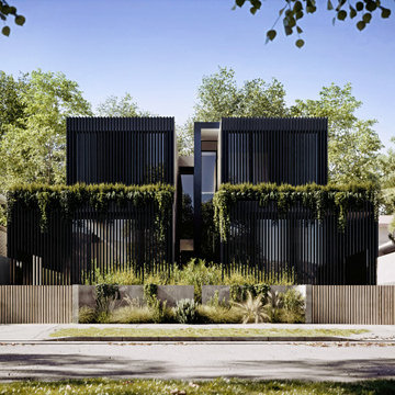 Twin homes in Northcote, VIC