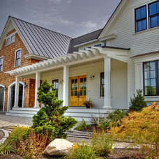 Traditional Exterior by Gulfshore Design