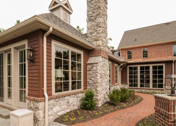 Traditional Exterior by Farinelli Construction, Inc.