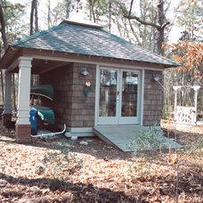 Contemporary Exterior by Benson Homes LLC