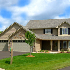 Traditional Exterior by Rongitsch Homes