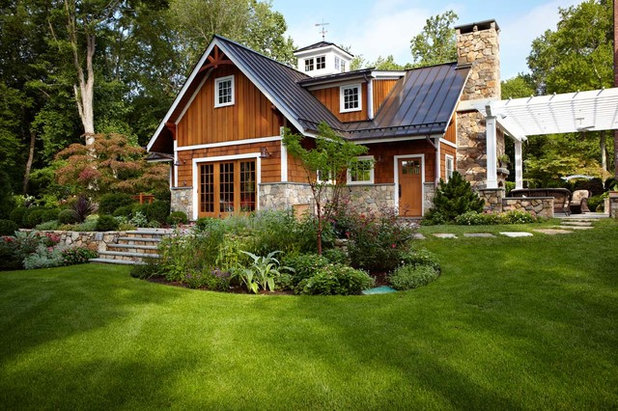 Traditional Exterior by TR Design-Build Firm