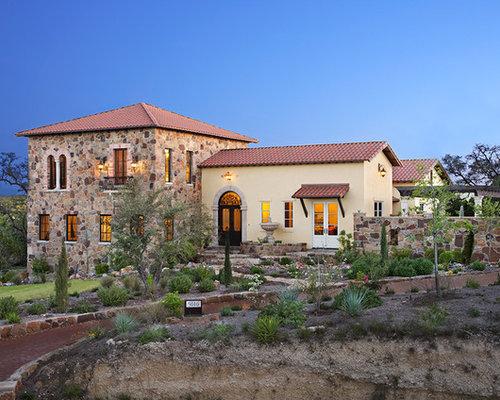 hacienda style house houzz