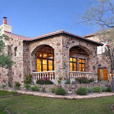 Mediterranean Exterior by Vanguard Studio Inc.