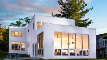 UNILUX-FINELINE Alu Clad - Wood Curtain Wall Windows