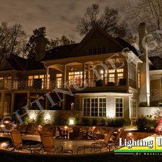 Traditional Exterior by Lighting Designs of the Carolinas