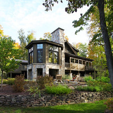 Traditional Exterior by Kathleen McGovern Studio of Interior Design