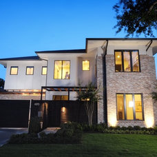 Contemporary Exterior by On Point Custom Homes