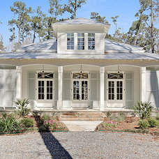 Traditional Exterior by Maison de Reve Builders LLC
