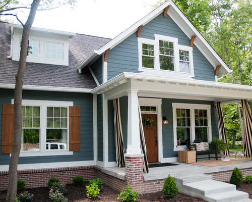 Transitional Indianapolis Exterior Design Ideas Remodels Photos