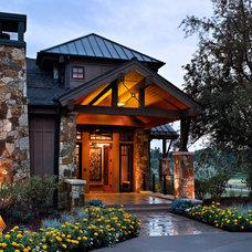 Traditional Exterior by Comstock Design