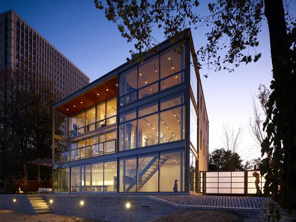 Modern Exterior by Booth Hansen