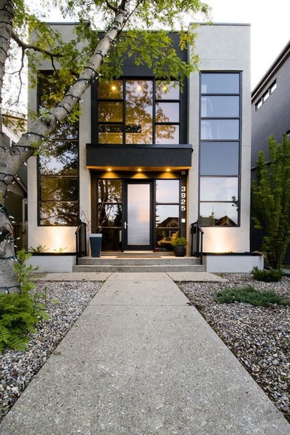 Contemporary Exterior by Fifth Element Homes