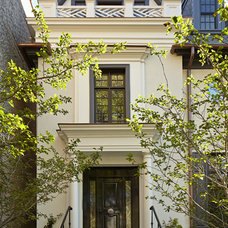 Traditional Exterior by Burns and Beyerl Architects