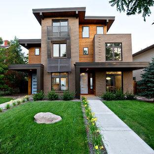 Пример оригинального дизайна: трехэтажный дуплекс в стиле модернизм