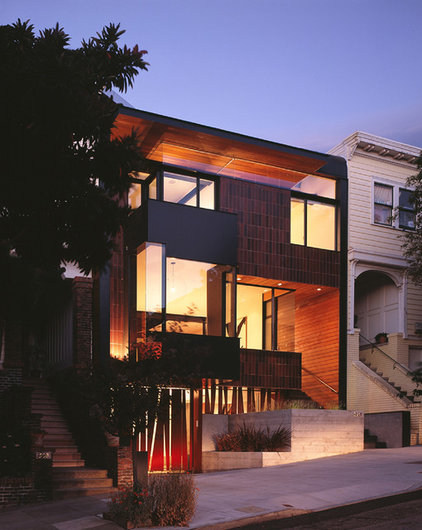 Contemporary Exterior by Winder Gibson Architects