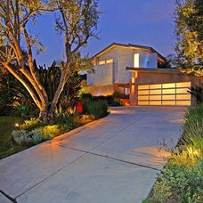 Contemporary Exterior Urban L.A. villa