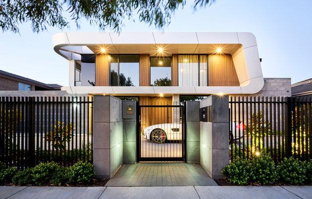 Contemporary Exterior by Nagy Design Pty Ltd