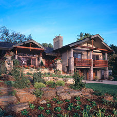 Traditional Exterior by Vujovich Design Build, Inc.