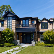Traditional Exterior by Polsky Perlstein Architects