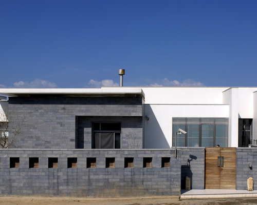 Boundary wall houzz for House outer wall design