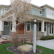 Beach Style Exterior by Southwick Construction, Inc.