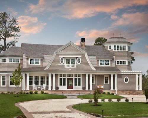 New england beach house home design ideas pictures for Classic beach house designs
