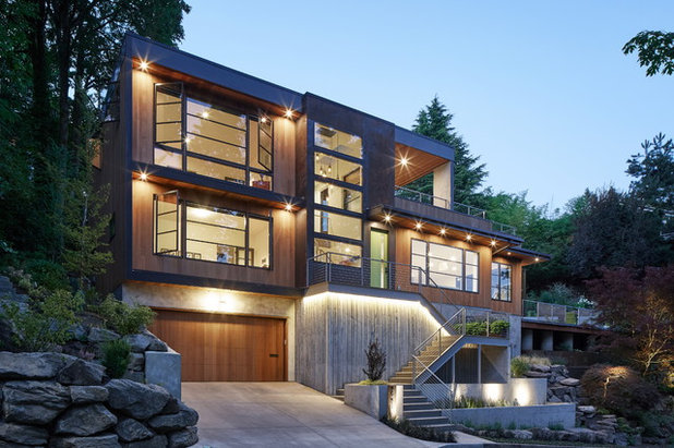 Contemporary Exterior by Giulietti Schouten Architects