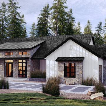Valley Creek Modern Ranch Farmhouse