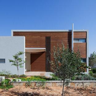 Идея дизайна: дом в стиле модернизм