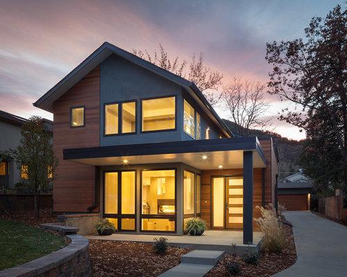 Modern exterior design ideas remodels photos for Modern house siding