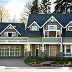 Bellevue House - Craftsman - Exterior - Seattle - by Kathryn Tegreene Interior Design