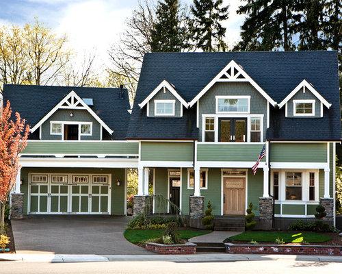 Gable peaks home design ideas renovations photos - Exterior house gable decorations ...
