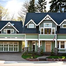 Craftsman Exterior by Fazzolari Custom Homes & Renovations
