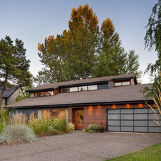 Contemporary Exterior by Josh Partee | Architectural Photographer