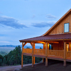 Traditional Exterior by Sand Creek Post & Beam
