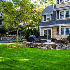 Traditional Exterior by Natural Stone Wall Solutions, Inc.