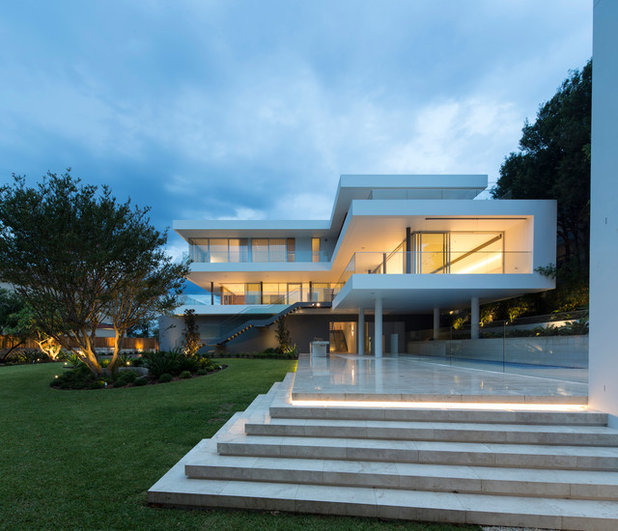 Modern Luxury Home In Architectural Design In Australia: Roots Of Style: How Did Your Urban Australian House Gets