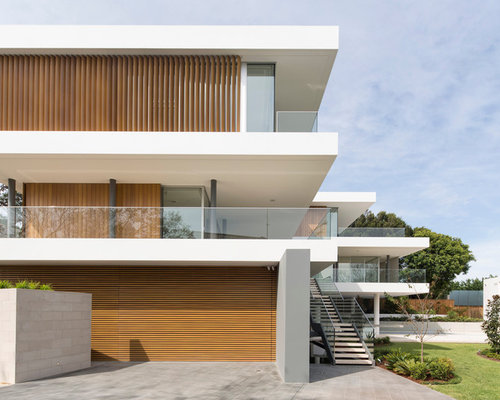 Timber clad extension home design ideas renovations photos for Sunroom extensions sydney