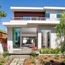 Contemporary Exterior by clark kitchens and construction