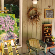 Eclectic Exterior by Wall Flower Studio