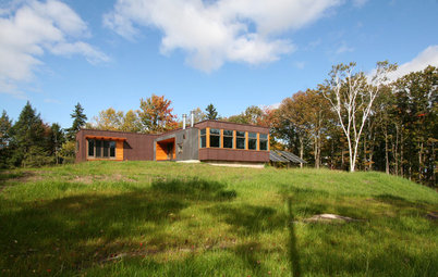 Houzz Tour: Prefab Cabin in Rural Vermont