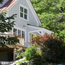 Farmhouse Exterior by Joan Heaton Architects