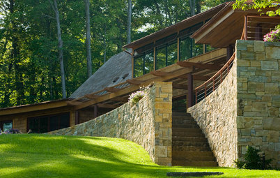 Houzz Tour: 2 Wings for 3 Generations on a Vermont Lake