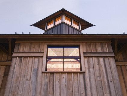 Eclectic Exterior by Birdseye Design