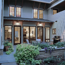Traditional Exterior by DW Ricks Architects + Associates, PC
