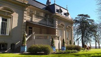 Versailles planter, Jardinier du Roi, French planters, orange tree planters Chat