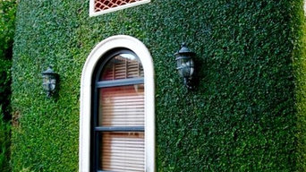 Vertical Garden Wall | Green Exterior | Artificial Hedge Panels
